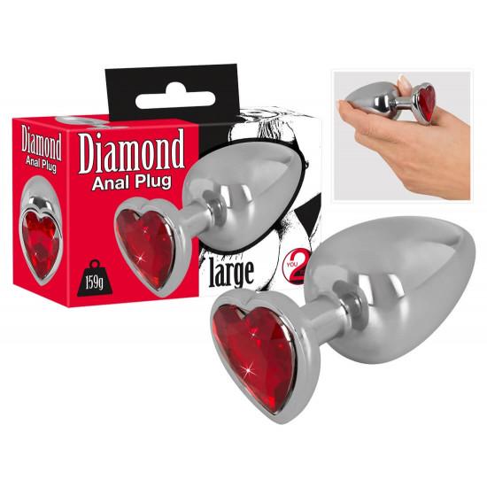 Diamond köves análtágító 159g