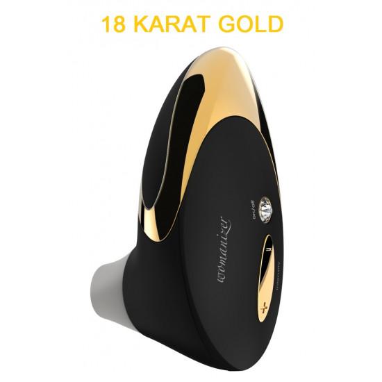 Womanizer Pro Lux csiklóizgató - 18 karátos arannyal