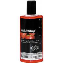 WARMup masszázsolaj - eper