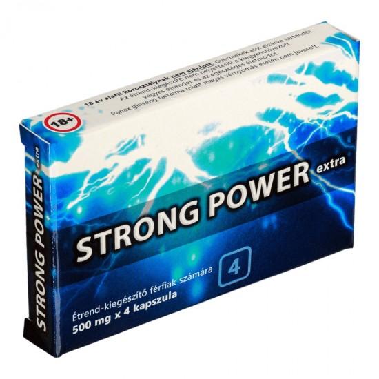 Strong Power Extra kapszula férfiaknak 4db