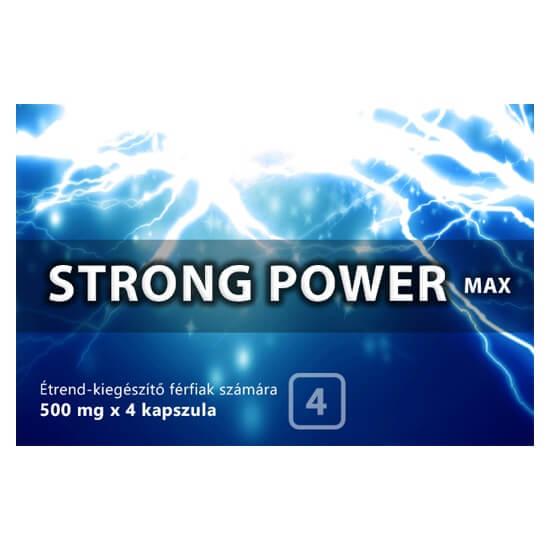Strong Power Max kapszula férfiaknak 4db