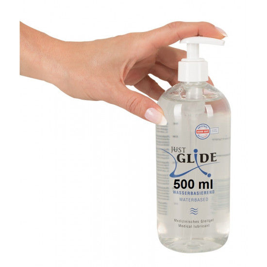 Just Glide vízbázisú síkosító 500ml