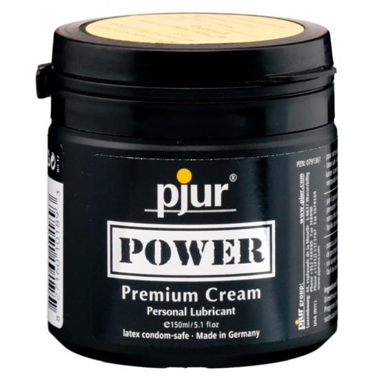 Pjur Power Premium vegyesbázisú síkosító krém 150ml